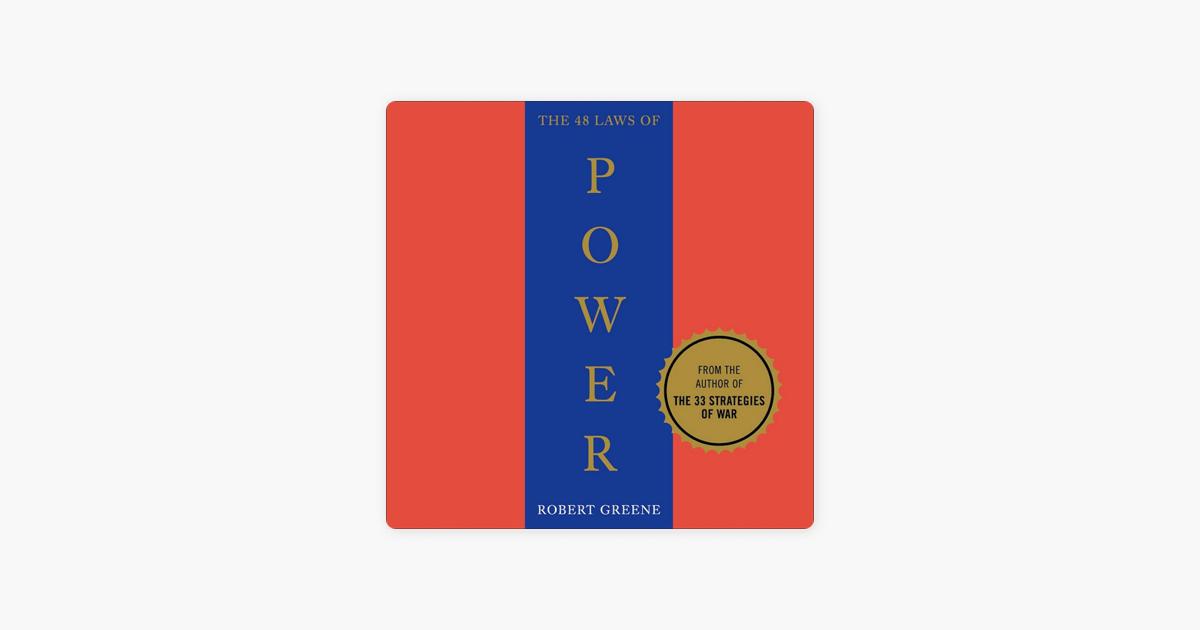 The 48 Laws of Power (1ST) (Unabridged) - Robert Greene