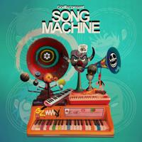 Song Machine Theme Tune-Gorillaz