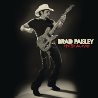 Brad Paisley - Hits Alive artwork