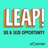 Podcast cover art for LEAP! with Tina Seelig