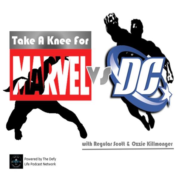 Take A Knee For Marvel Vs DC