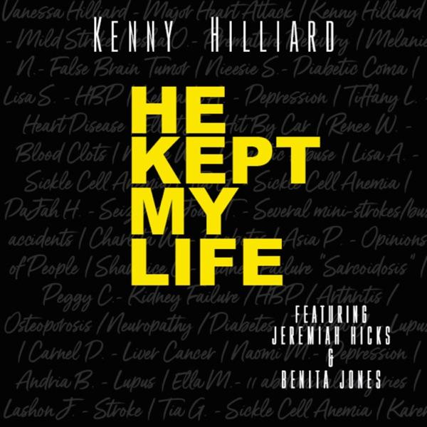Cover art for He Kept My Life (Feat. Jeremiah Hicks & Benita Jones)