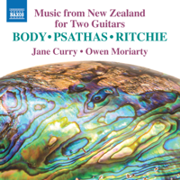 Jane Curry & Owen Moriarty - Music from New Zealand for 2 Guitars artwork