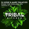 DJ Kone & Marc Palacios - Push the Feeling On (DJ Blackstone Remix) grafismos