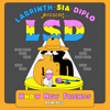 LSD - No New Friends (feat. Sia, Diplo & Labrinth) [Dombresky Remix] artwork