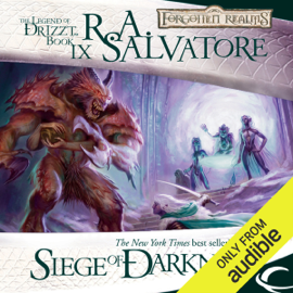 Siege of Darkness: Legend of Drizzt: Legacy of the Drow, Book 3 (Unabridged) audiobook