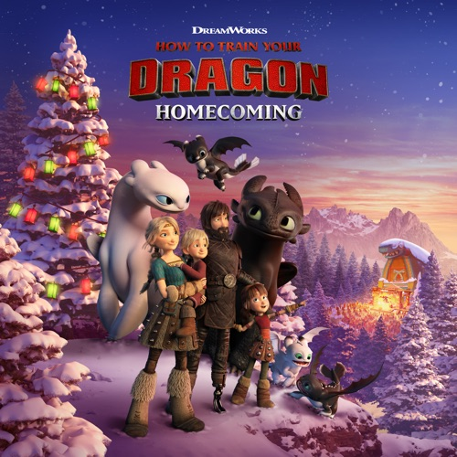 How to Train Your Dragon: Homecoming movie poster