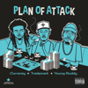 Curren$  y, Trademark Da Skydiver & Young Roddy - Plan of Attack  artwork