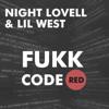 Night Lovell & LIL West - Fukk CodeRED artwork