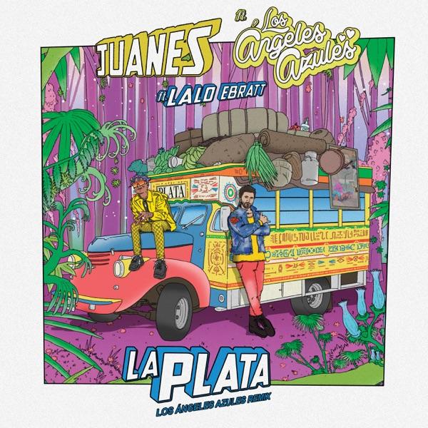 La Plata (feat. Los Ángeles Azules & Lalo Ebratt) [Los Ángeles Azules Remix] - Single