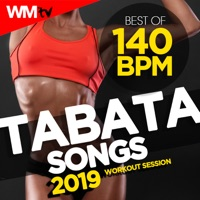 Various Artists - Best of Tabata 140 Bpm Songs 2019 Workout Session (20 Sec. Work and 10 Sec. Rest Cycles With Vocal Cues / High Intensity Interval Training Compilation for Fitness & Workout)