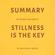 Milkyway Media - Summary of Ryan Holiday's Stillness Is the Key (Unabridged)