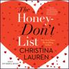Christina Lauren - The Honey-Don't List (Unabridged)  artwork