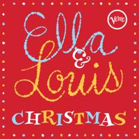 Ella Fitzgerald & Louis Armstrong - Ella & Louis Christmas artwork