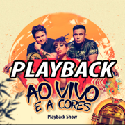 Ao Vivo e a Cores - Karaokê Instrumental Playback - Matheus & Kauan ft. Anitta - Playback Show - Playback Show