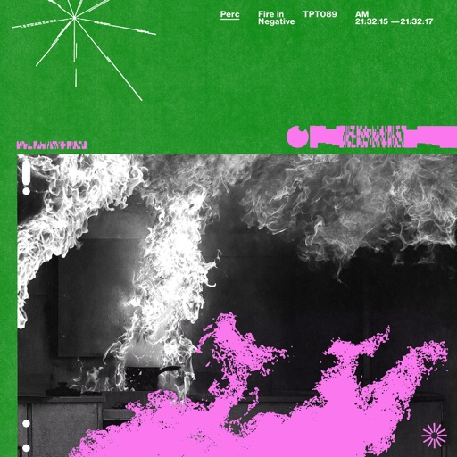 Fire In Negative - EP by Perc