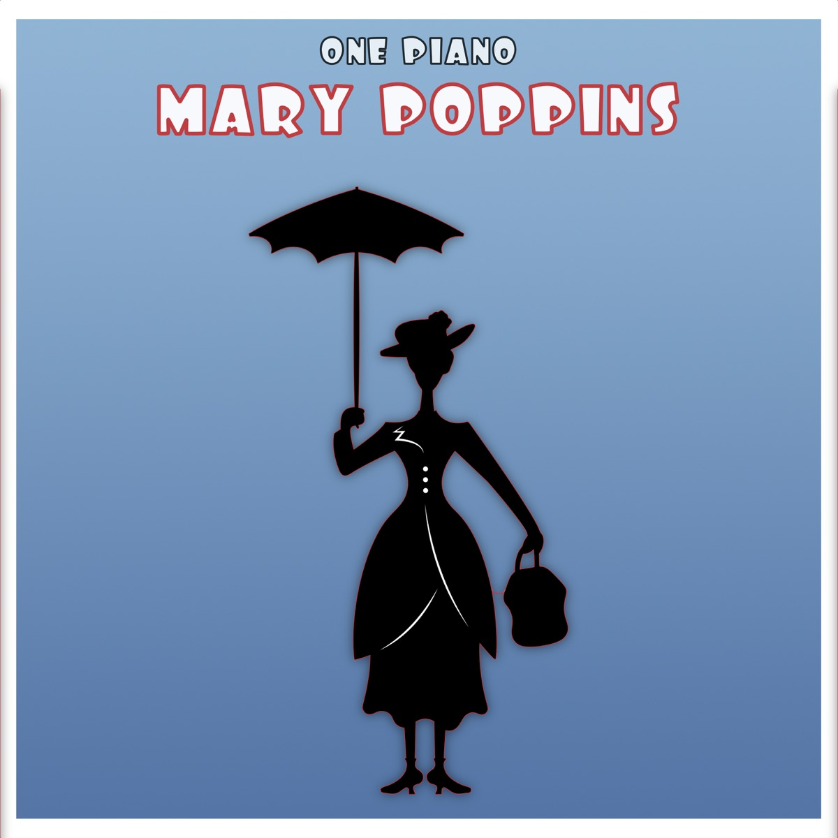 Marry Poppins One Piano CD cover