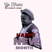 Happy New month (feat. Spankie & J-unique) - Gp Khare