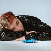 Синий Lamborghini