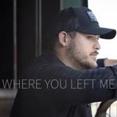 Where You Left Me - Sean Williams Cover Art