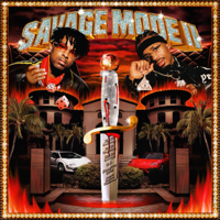 21 Savage & Metro Boomin - SAVAGE MODE II artwork