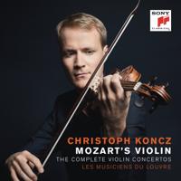 Christoph Koncz - Mozart's Violin: The Complete Violin Concertos artwork