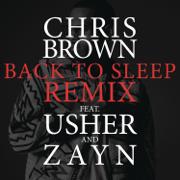 Back to Sleep (Remix) [feat. Usher & ZAYN] - Chris Brown