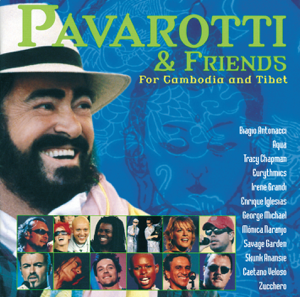 Luciano Pavarotti, José Molina, Ars Canto G. Verdi, Enrique Iglesias, Cambodian And Tibetan Children's Choir, Aqua, Orchestra Sinfonica Italiana, Eurythmics, Savage Garden, Irene Grandi, George Michael, Skunk Anansie, Tracy Chapman, Zucchero & Caetano Veloso - All You Need Is Love
