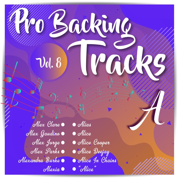 Pro Backing Tracks a, Vol.8