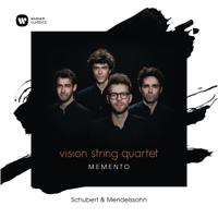 vision string quartet - memento artwork