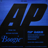 """AP (Music from the film """"Boogie"""") - Pop Smoke Cover Art"""