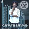Brian B-Flat Cook - Superhero artwork