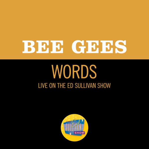 Words (Live On The Ed Sullivan Show, March 17, 1968) - Single