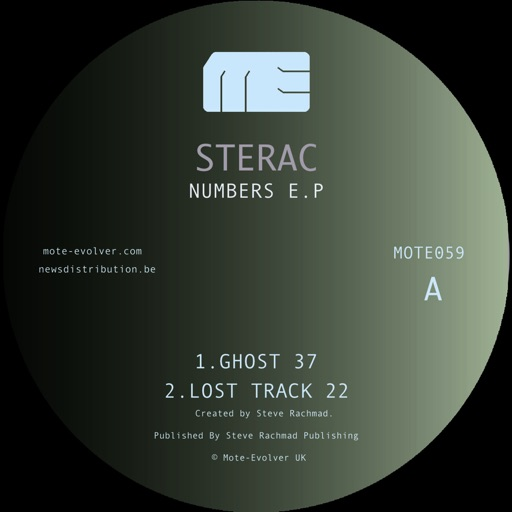 Numbers - EP by Sterac