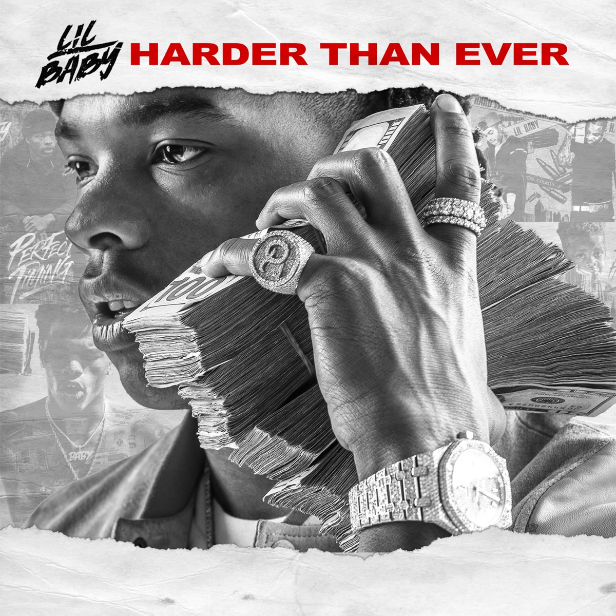 Harder Than Ever Lil Baby CD cover