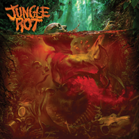 Jungle Rot - A Burning Cinder artwork