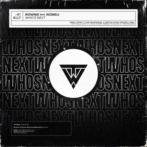 Who's Next - Single by Rownie