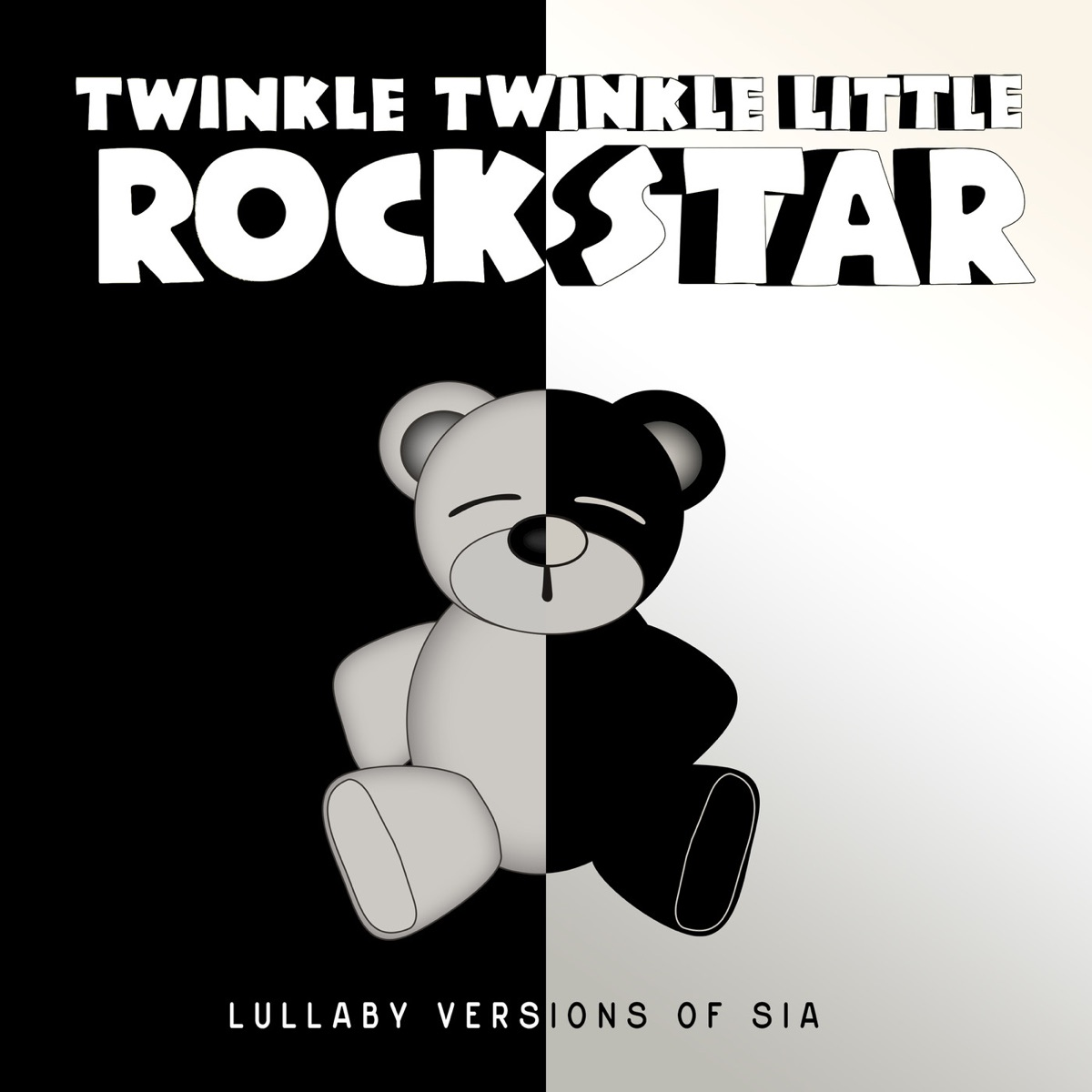 Lullaby Versions of Sia Twinkle Twinkle Little Rock Star CD cover