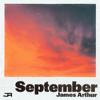 James Arthur - September artwork