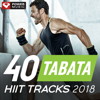 40 Tabata HIIT Tracks 2018 (20 Sec Work and 10 Sec Rest Cycles with Vocal Cues) - Power Music Workout