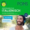 Majka Dischler - PONS Audiotraining Plus Italienisch: Für Anfänger und Fortgeschrittene - hören, besser verstehen und leichter sprechen artwork
