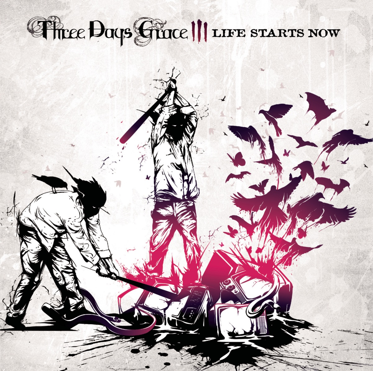 Life Starts Now Three Days Grace CD cover