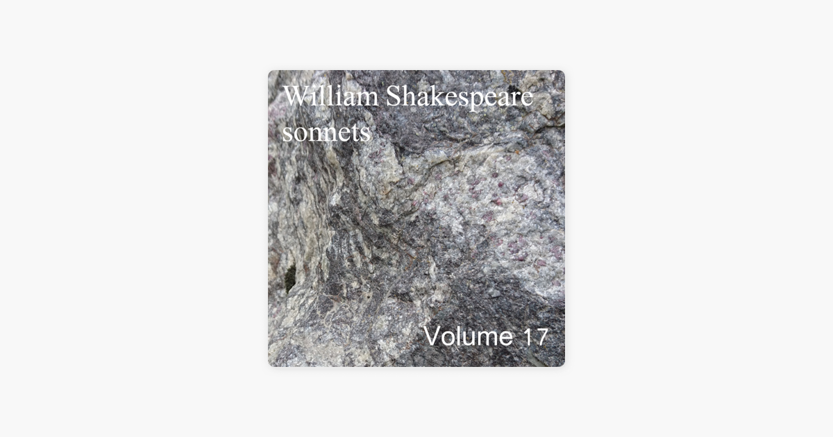 sonnet 17 william shakespeare