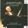 Andor Foldes Plays Beethoven: Piano Sonatas Op. 7, Op. 14 Nos 1 & 2, Op. 101 - Andor Foldes
