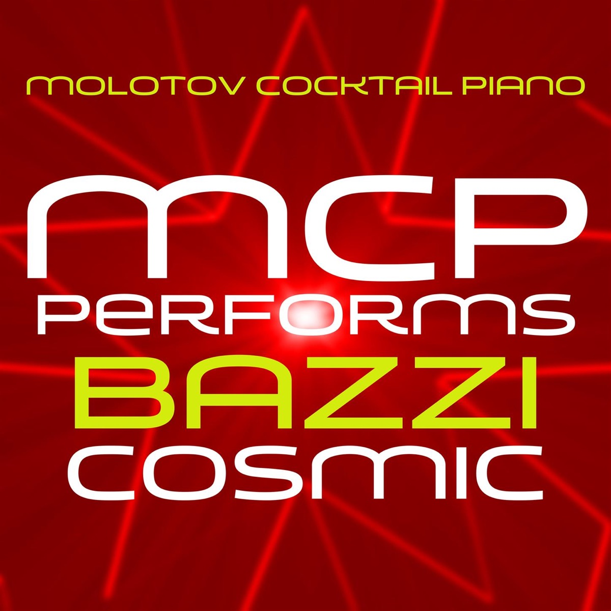 new products offer discounts sale MCP Performs Bazzi: Cosmic Album Cover by Molotov Cocktail Piano