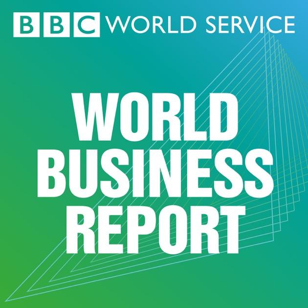 apple podcat内のbbc world business report