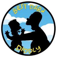 Podcast cover art for Best Darn Diddly (Simpson's Podcast)