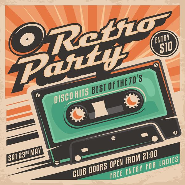 Retro Party Disco Hits