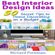 Richard Foreman - Interior Design Ideas: 50 Tips for Beginners to Home Decorating on a Budget: Complete Guide to Interior Designing (Unabridged)