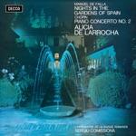 Alicia de Larrocha, L'Orchestre de la Suisse Romande & Sergiu Comissiona - Noches en los jardines de España: 1. En el generalife